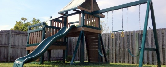 Review of Congo Monkey Play 2 Maintenance-Free Swing Set