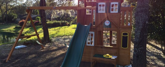 AssemblyReview:  Mount Forest Lodge playset by Cedar Summit