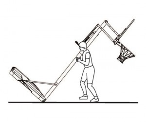 Portable goal (Basketball Goals Page) pic